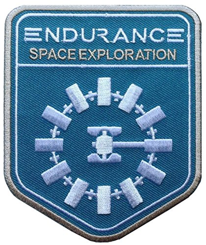 Titan One Europe Interstellar Endurance Blue Patch Iron On Parche Termoadhesivo
