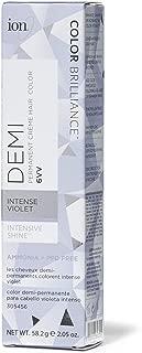 Ion Intensive Shine 6VV Intense Violet Demi Permanent Creme Hair Color 6VV Intense Violet
