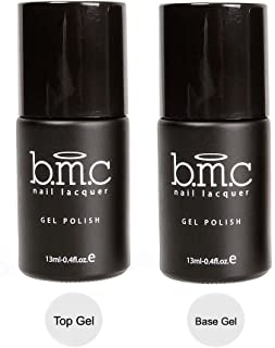 Maniology (formerly bmc) UV/LED Gel Nail Art Lacquer Polish Top and Base Coat Manicure Essentials Set