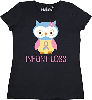 inktastic Infant Loss Awareness Owl Women's T-Shirt