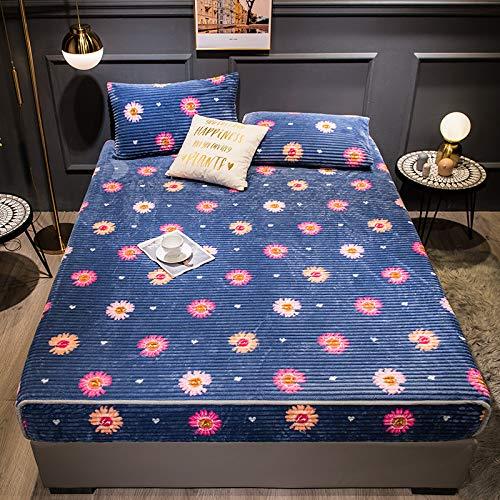 haiba Unifarbenes Spannbettlaken für Betten, superweich, bügelfrei...