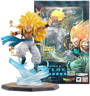 WUluMEI Bandai Figuarts Zero Tamashii Dragon Ball Z Sohn Goten Trunks Gotanks Super Saiyajin Actionfigur Puppenmodell Figu...