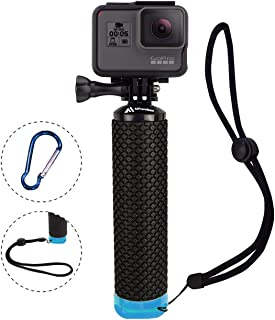 Waterproof Floating Hand Grip Compatible with GoPro Camera Hero 5 Session Black Silver Hero 7 6 5 4 3 3+ 2 1 Handler & Handle Mount Accessories Kit for Water Sport and Action Cameras (Blue)