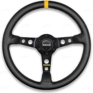 Momo R1905/35L Steering Wheel (MOD 07 Black Leather)