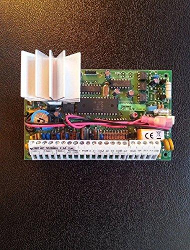Sistema de Alarma de Seguridad DSC – Panel de Control DE 32 Zonas PC585 con Teclado LED PC1555RKZ