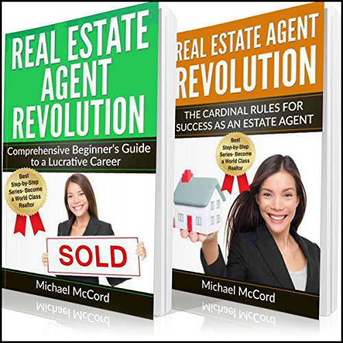 Real Estate Agent Revolution audiobook cover art