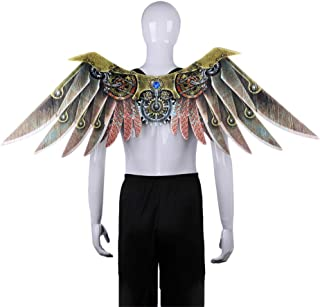 TOYANDONA Carnival Wings Dragon Cosplay Costume Accessories Steampunk Fairy Dress Up Performance Photo Props for Kids