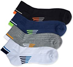 APA Lifestyle Active Power Leap Athletic Anti Blister Heavy Duty Combed Cotton Quarter Socks