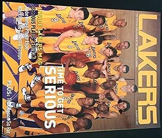 Los Angeles Lakers Official Magazine Playoffs 2009 Lakers vs. Orlando Magic Kobe 24