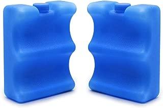 JMEXSUSS Reusable Ice Packs for Breastmilk Storage, Cooler Bag, Breakfast, Lunch, Baby Bottles(2 Pack)