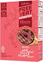 Cybele's Free To Eat Superfood Veggie Pasta, Superfood Red, 8 Ounce Box