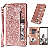 LLZ.COQUE for Samsung Galaxy J4 Plus 2018 Wallet Case Bling