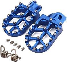 JFG RACING Motorcycle CNC Foot Pegs Footpegs Rest Pedals For Husqvarna TC65 17-18 TC85 14-17 TC125/FC 250-450 14-15 TC250 14-16 TE/FE150-501 14-16 701ENDURO 16-18 701SUPER MOTO 16-18 FS450 Husaberg