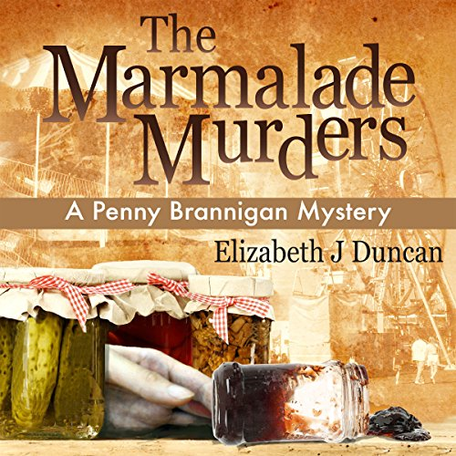 The Marmalade Murders audiobook cover art