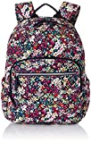 Vera Bradley Women's Signature Cotton Campus Backpack Bookbag, Itsy Ditsy, One Size