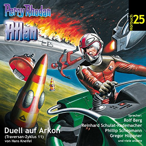Atlan - Duell auf Arkon cover art