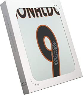 Ronaldo de Lima Signed 2004-05 Real Madrid Home Soccer Jersey In Gift Box   Autographed Memorabilia