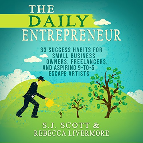 The Daily Entrepreneur audiobook cover art