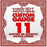 ERNIE BALL エレキギター弦 バラ弦 1011 .011 6本セット アーニーボール【国内正規品】
