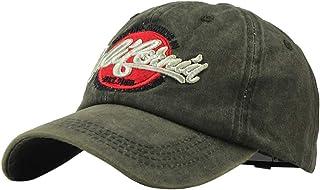 URIBAKY Gorras de béisbol Bordado de Letras Ajustable, Gorra para Hombre Mujer Sombreros de Verano