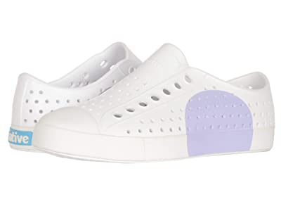 Native Shoes Jefferson Block (Shell White/Shell White/Powder Circle) Women