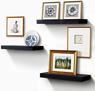 ZGZD Floating Shelves for Wall, Easy to Install, Set of 3, 5.9