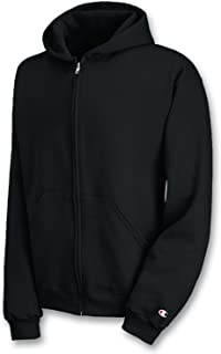 Champion CW25 Youth 50/50 Full-Zip Hoodie - Navy - L
