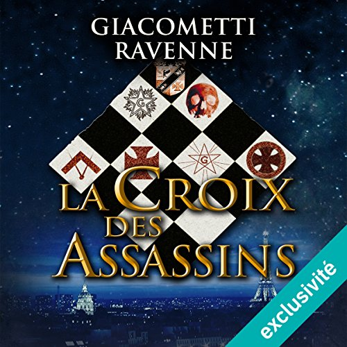 La croix des assassins audiobook cover art