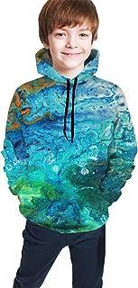 Sea Kids/Teen Boys Girls Hoodie,3D Print Pullover Sweatshirts