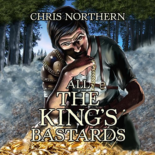 All the King's Bastards audiobook cover art