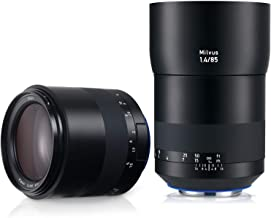 Zeiss 85mm f/1.4 Milvus ZE Lens for Canon EOS DSLR Cameras