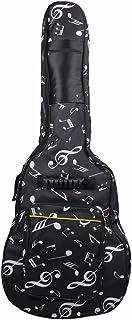 ele ELEOPTION resistente al agua Oxford bolsa de guitarra 39/40/41 inch Caso Musical Patrón Nylon Gig Bag para Guitarra Eléctrica bolsa de transporte acolchada para guitarra acústica y clásica