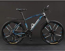 Mountainbike voor volwassenen, 26 inch 21/24/27/30 snelheden Fiets Volledig geveerde MTB-versnellingen Dubbele schijfremme...
