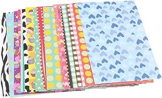 Baoblaze 20 Sheets Colorful Photo Sticker Borders Film Stickers for Fujifilm Instax Mini 8, 7S, 25, 50S, 90 Camera Film - A