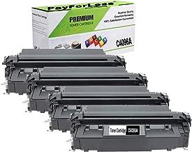 PayForLess Compatible 96A C4096A Toner Cartridge Black 4PK for HP Laserjet 2000 2100 2100M 2200D 2200DN