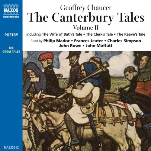 The Canterbury Tales II audiobook cover art