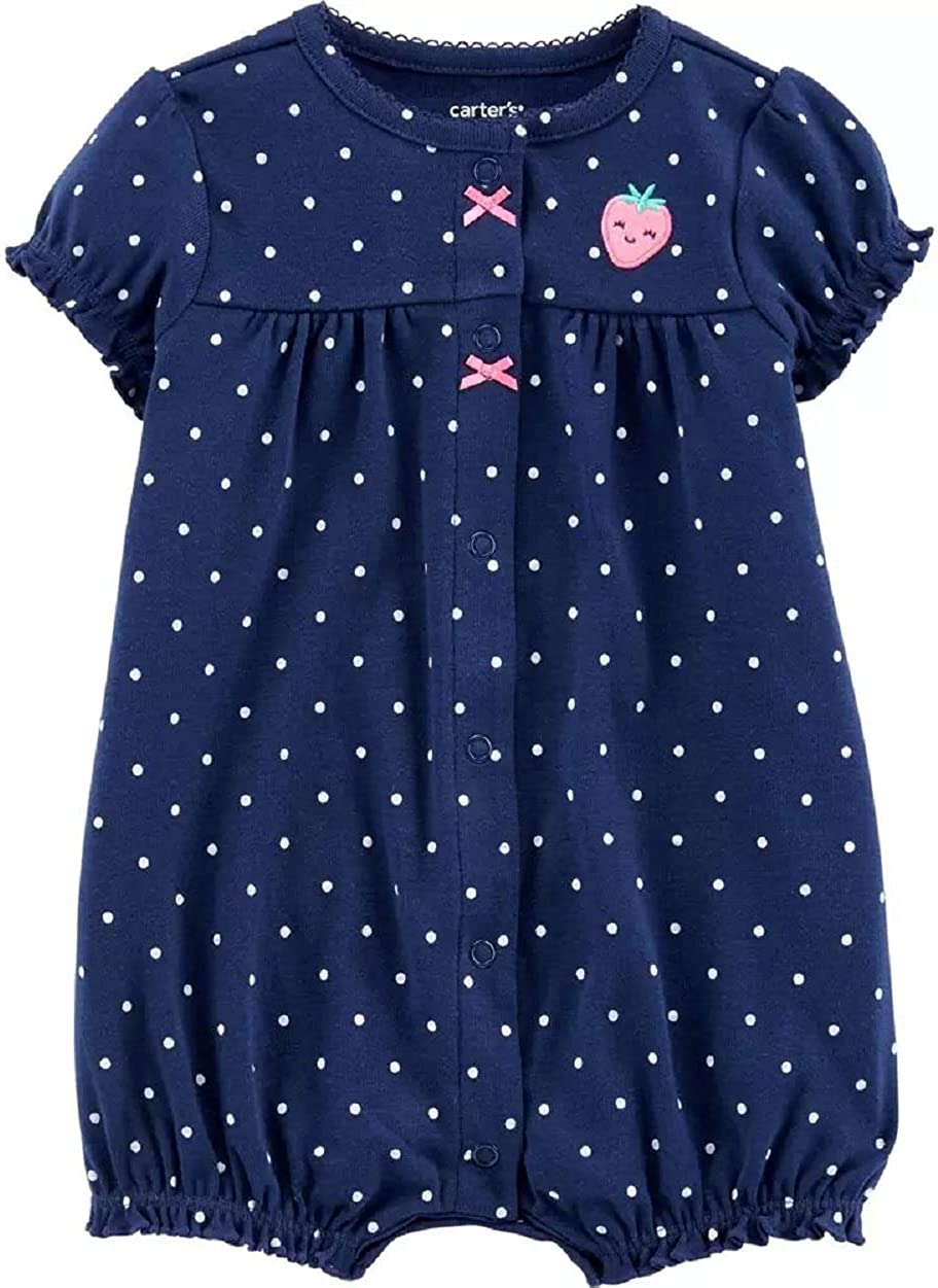 Carter's Baby Girls' Ranking TOP6 Snap-Up Ranking TOP13 Romper Cotton