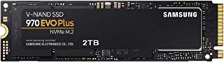 Samsung 970 EVO Plus 2TB PCIe Gen 3.0 ×4 NVMe M.2 (2280) 最大 3,500MB/秒 内蔵 SSD MZ-V7S2T0B/EC 国内正規保証品