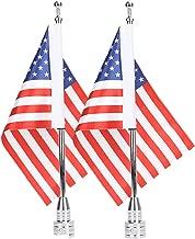 USA Flagpole Mount + 6 x 9 Flag Kit Adjustable for Harley Davidson Honda Goldwing CB VTX CBR Yamaha
