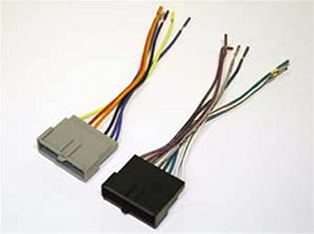 Amazon.com: SCOSCHE FD02B Car Speaker Wiring Harness Aftermarket Stereo  Connector for Select 1986-2004 Ford Vehicles: Car Electronics   Ford Model A Wiring Harness Kits      Amazon.com