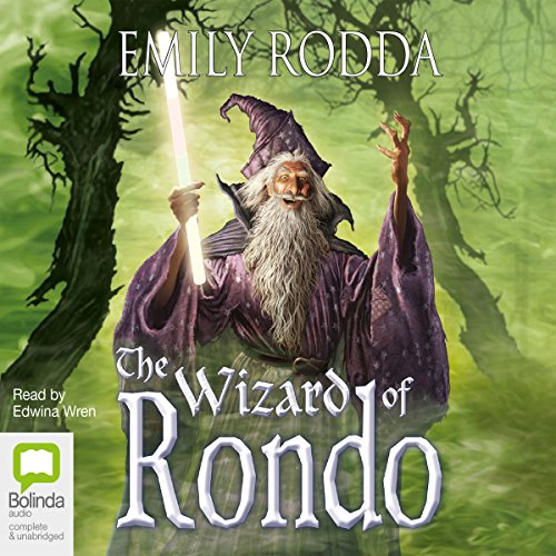 The Wizard of Rondo audiobook cover art