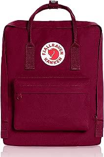 Kanken Classic backpacks for Everyday,Outdoor Bags,Sweden Laptop,Greenland Zip wallet,Raven,Re-Kanken ,mini,Raven (Plum)