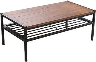 アイリスプラザ ローテーブル ブラウン 長方形 幅約90×奥行約48×高さ約37.5cm BRTHLTBL