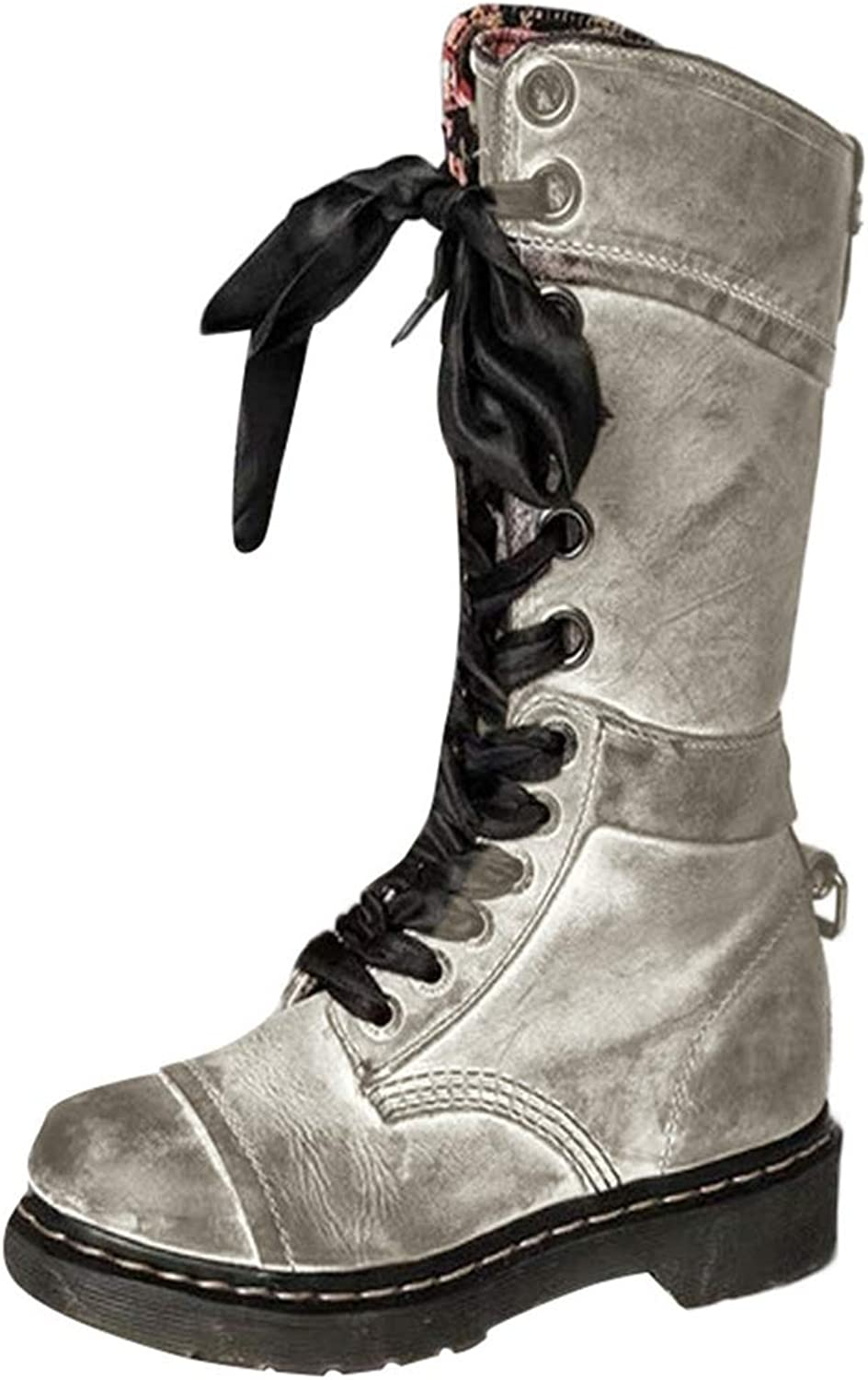 Kyle Walsh Pa Women Fashion Vintage Ankle Boots Leather Lace Up shoes Comfortable Casual Ladies Female Boots