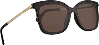 917dc341fa Michael Kors MK2079U Zermatt Sunglasses Black w Brown Lens 61mm 333273 MK  2079U