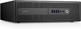 HP HP Elitedesk 800 G2 Sff Quad Core I5 6500 8Gb Ddr4 Ssd Windows 10 Professional Desktop Pc Computer Renewed (G2-8GB-256G...