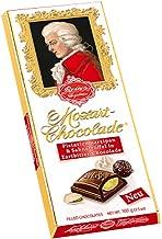 Reber Mozart Chocolate Dark Schokolade Pistazienmarzipan & Sahnertruffel in Zartbitter-Chocolade Bar -- 100g