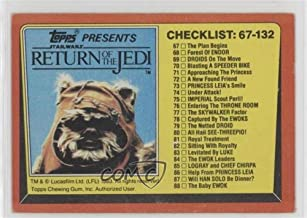 Checklist (Trading Card) 1983 Topps Star Wars: Return of the Jedi - [Base] #132
