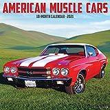 American Muscle Cars 2021 Wall Calendar