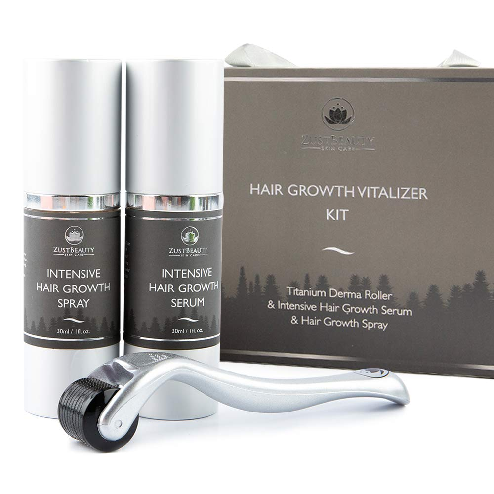 Beard Hair Growth Derma Roller Max Courier shipping free shipping 67% OFF Sca Kit for Face